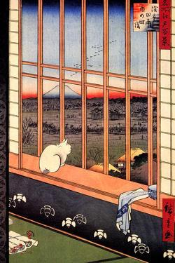Utagawa Hiroshige Asakusa Ricefields