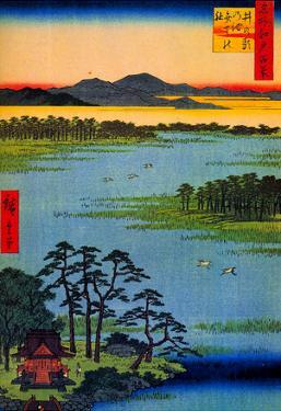 Utagawa Hiroshige Benten Shrine