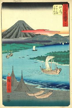 Ejiri by Utagawa Hiroshige