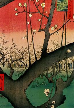 Utagawa Hiroshige Flowering Plum Tree