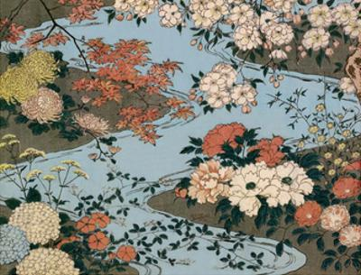 Flowers and Plants of the Four Seasons by Utagawa Hiroshige