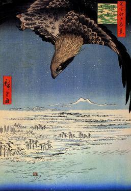 Utagawa Hiroshige Fukagawa Susaki Eagle