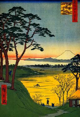 Utagawa Hiroshige Grandpa's Treehouse
