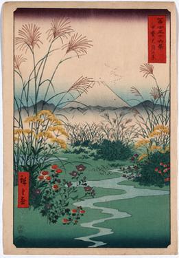 Kai Outsuki No Hara by Utagawa Hiroshige