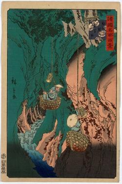 Kishu Kumano Iwatake Tori by Utagawa Hiroshige