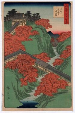 Kyoto Tofukuji Tsutenkyo by Utagawa Hiroshige