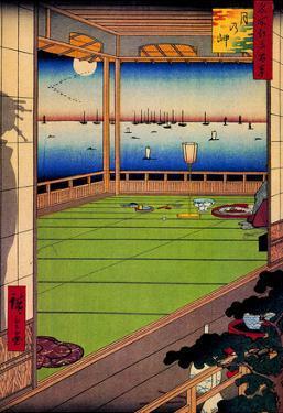 Utagawa Hiroshige Moon-Viewing Point
