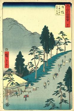 Nissaka by Utagawa Hiroshige