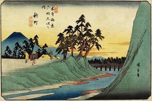 No.12 Shinmachi, 1830-1844 by Utagawa Hiroshige
