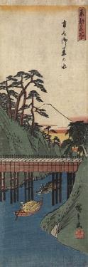 Ochanomizu, C. 1830-1858 by Utagawa Hiroshige