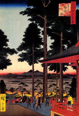 Utagawa Hiroshige Oji Inari Shrine
