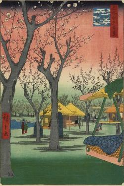 Plum Garden in Kamata, February 1857 by Utagawa Hiroshige