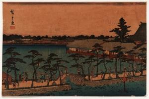 Shinobazu No Ike by Utagawa Hiroshige