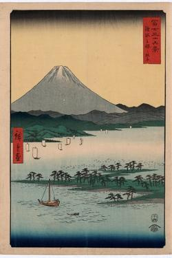 Suruga Miho No Matsubara by Utagawa Hiroshige