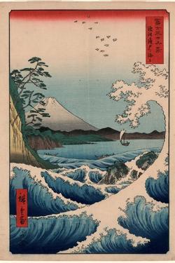 Suruga Satta No Kaijo by Utagawa Hiroshige