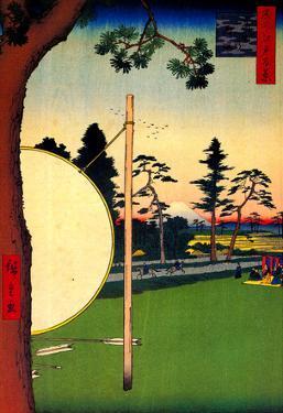 Utagawa Hiroshige Takata Riding Grounds