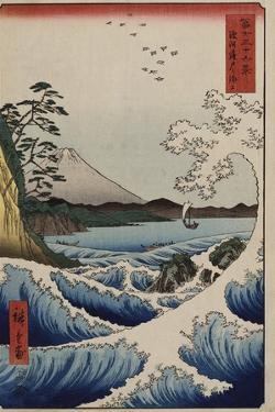 The Sea Off Satta in Suruga Province', from the Series 'The Thirty-Six Views of Mt. Fuji' by Utagawa Hiroshige