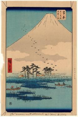 Yoshiwara by Utagawa Hiroshige