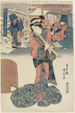 Act 9, 1830-1844 by Utagawa Kunisada
