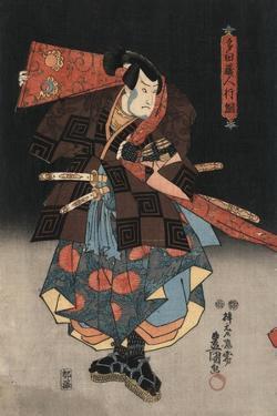 An Actor in the Role of Tadanokurando Yukitsuna by Utagawa Kunisada