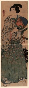 Mushikago O Motsu Wakazamurai by Utagawa Kunisada