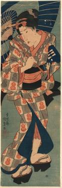 Nagauta No Keiko Ni Kayou Musume by Utagawa Kunisada