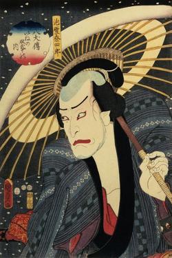 The Actor Ichikawa Danjuro VII (1791-1959) by Utagawa Kunisada