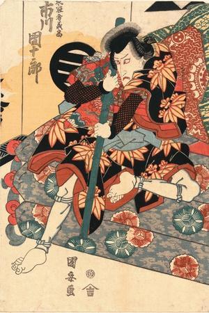Shichidaime Ichikawa Danjuro No Shimizu No Kanja Yoshitaka