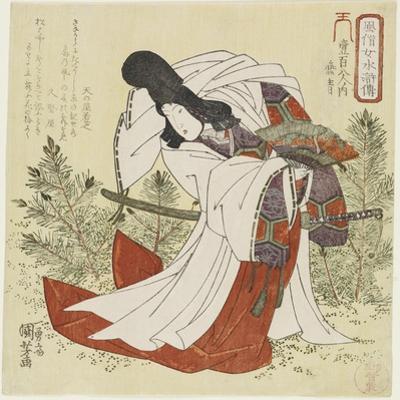 Ensei, C. 1829 by Utagawa Kuniyoshi