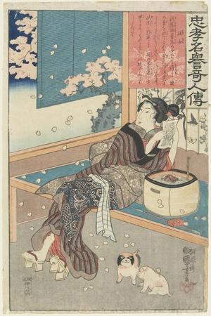 The House Woman Kaji, 1843-1847
