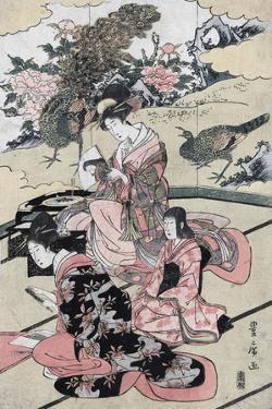 A Daimy?'s Mansion by Utagawa Toyohiro