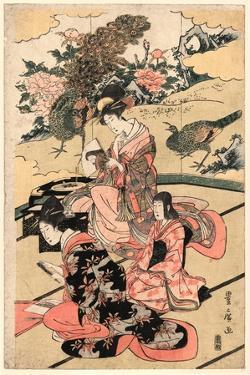 Daimyo No Okuzashiki by Utagawa Toyohiro
