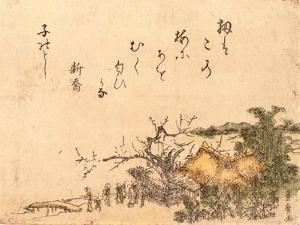 Inakaya No Ume by Utagawa Toyohiro
