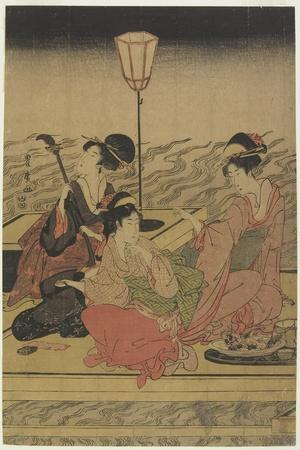 June (Summer Party on the Kamo River), Early 1800s