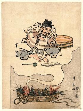 Tai No Yume Ebisu No Soroban by Utagawa Toyohiro
