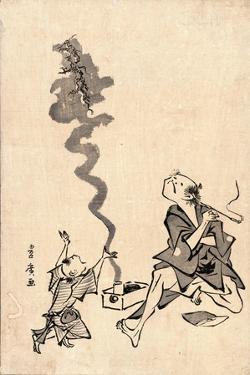 Tobae Mitate Ryugen Sennin by Utagawa Toyohiro