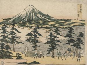 Yoshiwara by Utagawa Toyohiro