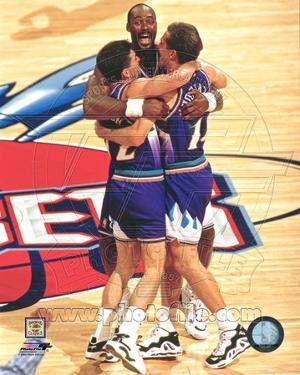 Utah Jazz - Karl Malone, John Stockton Photo