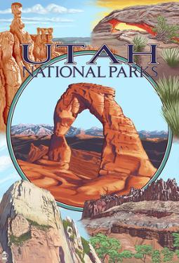 Utah National Parks - Delicate Arch Center
