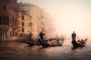 Foggy Venice by Ute Scherhag