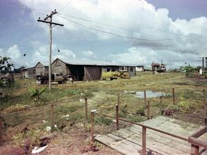 Utility Buildings at the People's Temple Agricultural Project, in Jonestown, Guyana, 1978