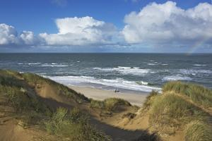 View to the North Sea from the Dunes at the 'Rotes Kliff' Near Kampen on the Island of Sylt by Uwe Steffens