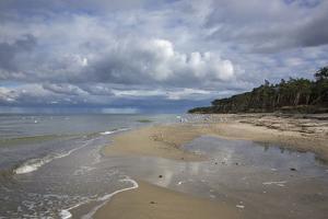 Western Beach of the Darss Peninsula by Uwe Steffens