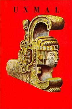 Uxmal, Mexican Travel Poster