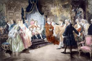 Bolingbroke Taking Leave of Louis XV by V^ De Paredes