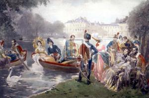 The Glorious Days of Fontainebleau by V^ De Paredes