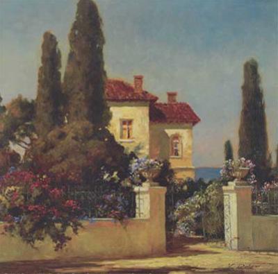 Tuscan Home I by V. Dolgov