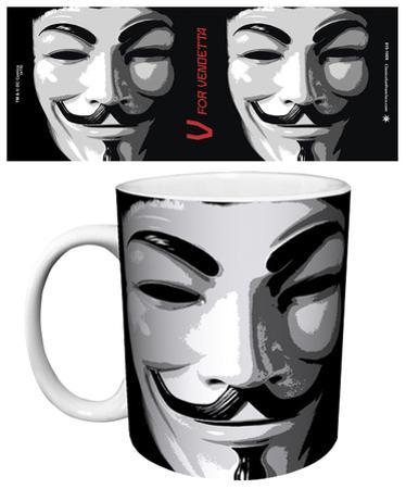 V For Vendetta - Mask Mug