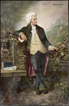 Wolfgang Amadeus Mozart Austrian Musician