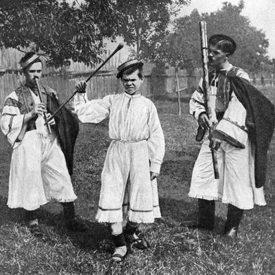 Peasant Musicians, Czechoslovakia, 1922